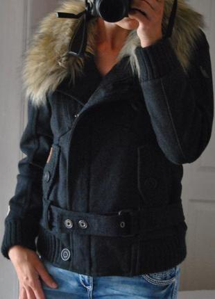Куртка косуха khujo tale-wo *шерстяная зимняя / зимова косуха