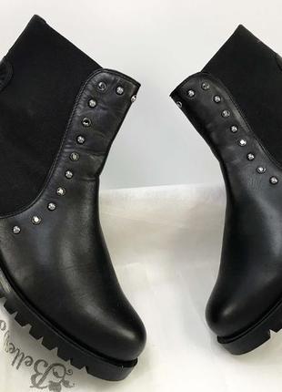 Ботильоны кожаные женские брендовые