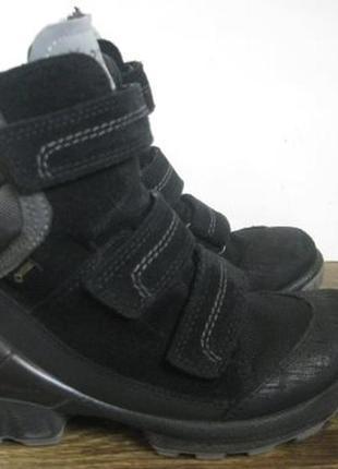 Зимние ботинки  ecco biom gore tex р.32
