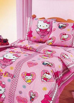 Детское постельное белье хелло китти, hello kitty