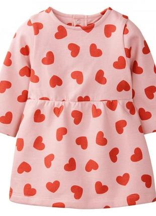 Теплое платье для малышки  от lupilu германия