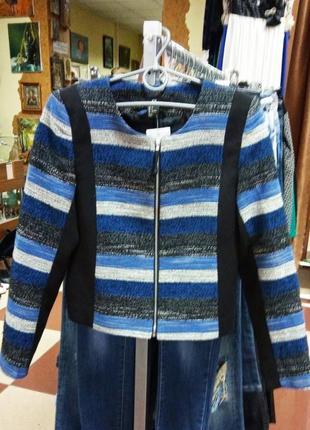 Новый пиджак жакет женский на молнии от h&m
