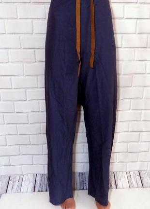 Хлопковые штаны на шнуровке, медицинские штаны medline