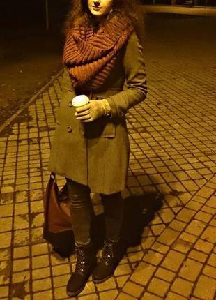 Распродаюсь♥огромный шарф-воротник, шарф-накидка, шарф-снуд  от тезенис