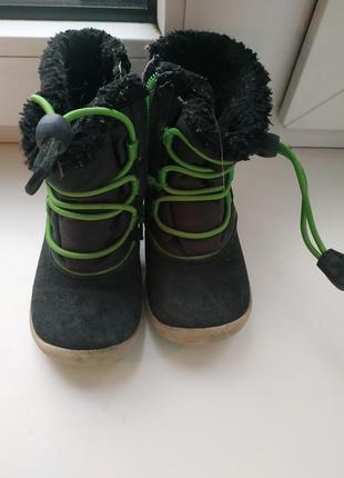 Ecco термо-ботинки