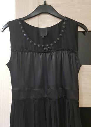 Anna sui шелковое платье