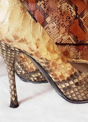 Туфли из кожи питона 100 % loriblu оригинал!!!37-р