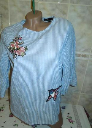 Блузка вышивкой atmosphere