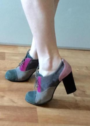 Туфли stoalos на квадратном каблуке