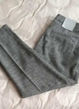 Классические брюки штаны в клетку