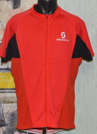 Веломайка, велоджерси, велоформа scott rn 88060 bike jersey