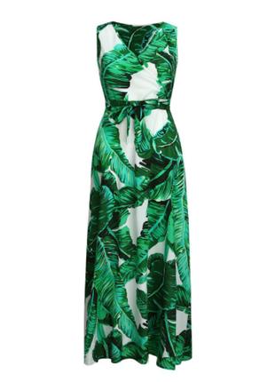 Платье длинное батал