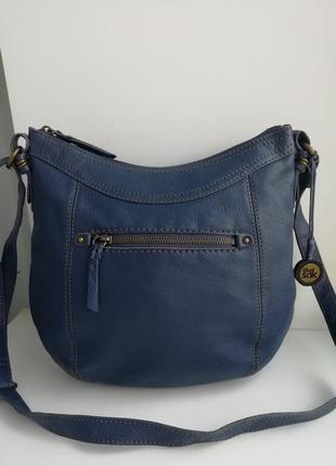 Шкіряна фірмова сумка кросбоді американського бренду the sak!!!! оригінал!!!!