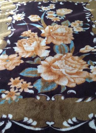 Шикарный плед, одеяло семейное 240х220см. уютное и теплое