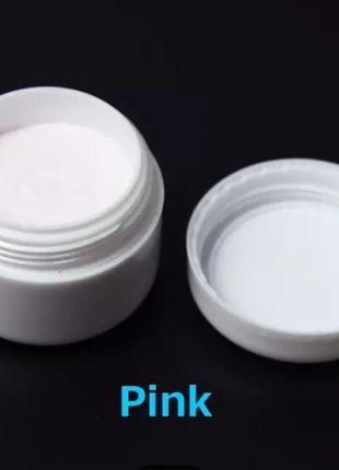 Акриловая пудра аrt lalic розовая (15 грамм)