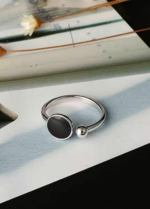 Серебряное кольцо с набора.