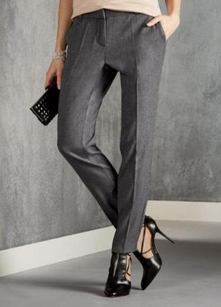 Шикарные класические шерстяные брюки esmara premium collection