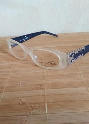 Оригинальная оправа под линзы,очки женские с камнями swarovski оригинал g.ferre gf36101