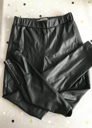Крутые кожаные брюки