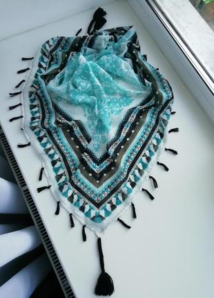 Красивий фірмовий шарф німецького бренду s.oliver!!!! оригінал!