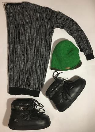 Срочно• италия •ботинки сапоги мунбуты moonboots •100% оригинал