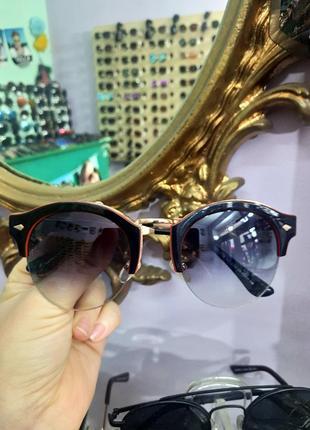 Стильные оригинальные круглые очки