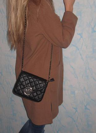 Стильное шерстяное  пальто-oversize с большими карманами3