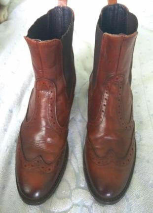 Стильные ботинки,кожа,39 размер
