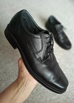 Мужские кожаные туфли rohde
