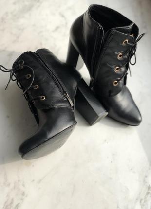 Осенние ботильоны / ботинки