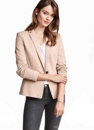 Трикотажный пиджак h&m (огромный выбор пиджаков)