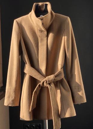 Шерстяное пальто от mango размер м mango