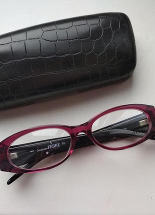 Оригинальная оправа под линзы,очки женские с камнями swarovski оригинал g.ferre gf361 02