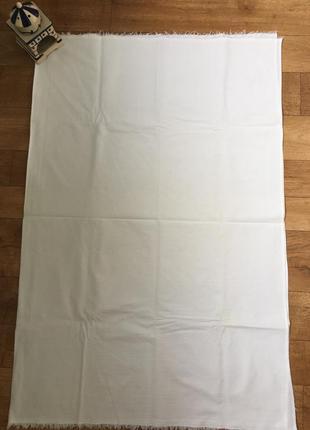 Детская белая простынка 100*130, простынка в детскую кроватку