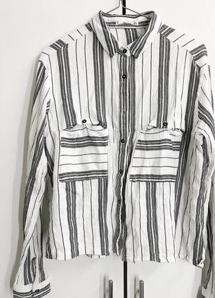 Укорочённая рубашка mango