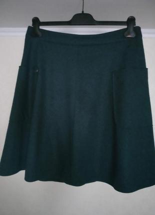 Великолепная шерстяная юбка белорусской тм бурвин 48 размера