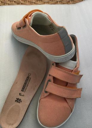 Туфли слипоны текстиль с кожей  со светоотражателями