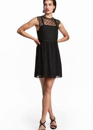 Кружевное платье h&m 0509571001