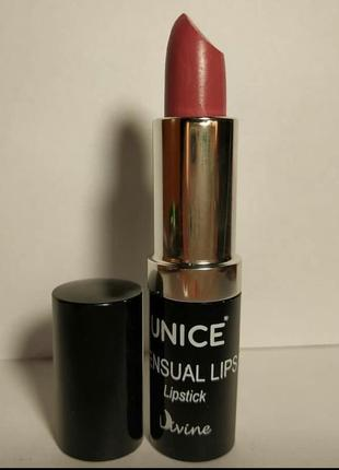 Зволожуюча помада для губ unice divine sensual lips 4,2г