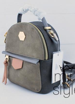Рюкзак на длинной ручке cross-body трендовый и стильный кроссбоди david jones
