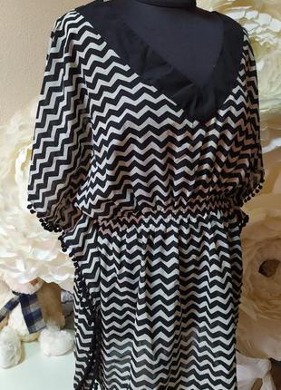 Красивая модная блуза-туника