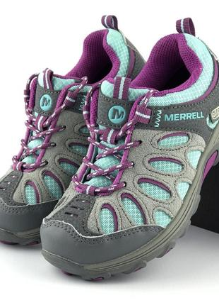 Трекинговые кроссовки merrell cham low lce wtpf