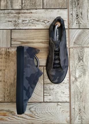 Замшевые ботинки, туфли, кеды от kennel and schmenger, милитари, военный стиль
