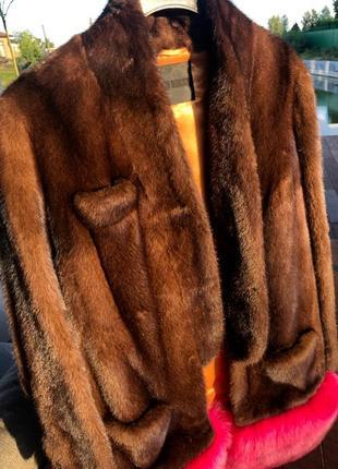 Норковая шуба anton belinskiy оригинал брендовая
