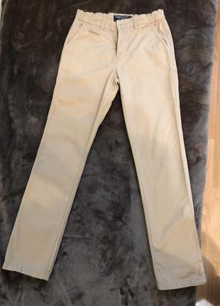 Стильные брендовые брюки на мальчика 146 см