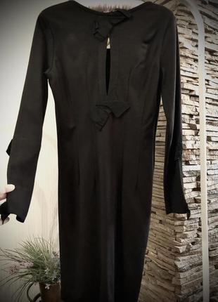 Черное французское платье