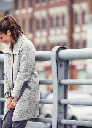 "Пальто зимнее шерстяное. украинская марка ""spring fashion"""