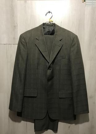 Мужской классический костюм benvisto в клетку 099 (46)