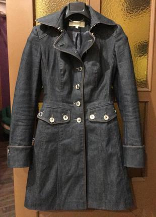 Джинсовое пальто karen millen оригинал