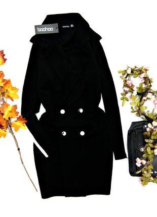 Стильное платье с воротником